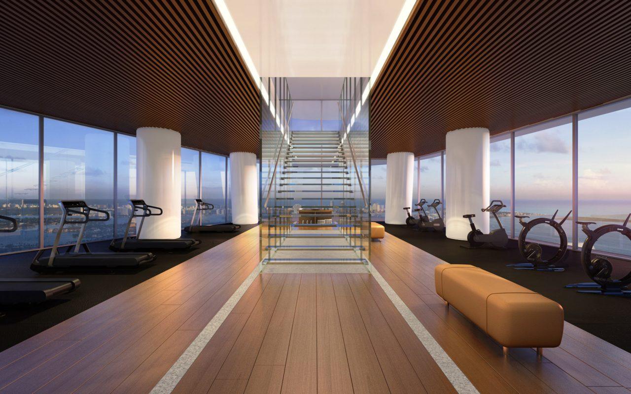 Gym-glass-stair-detail
