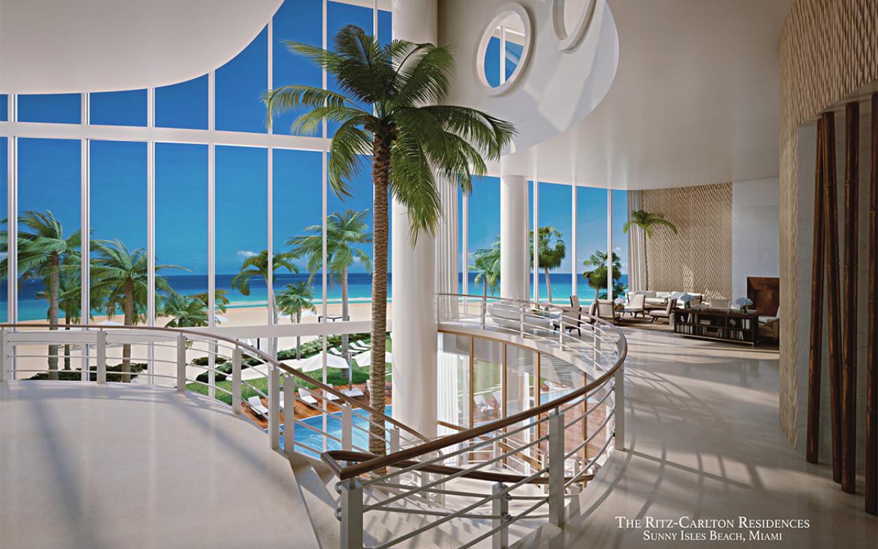 The-Ritz-Carlton-Residences,-Sunny-Isles-Beach---02-Upper-Lobby