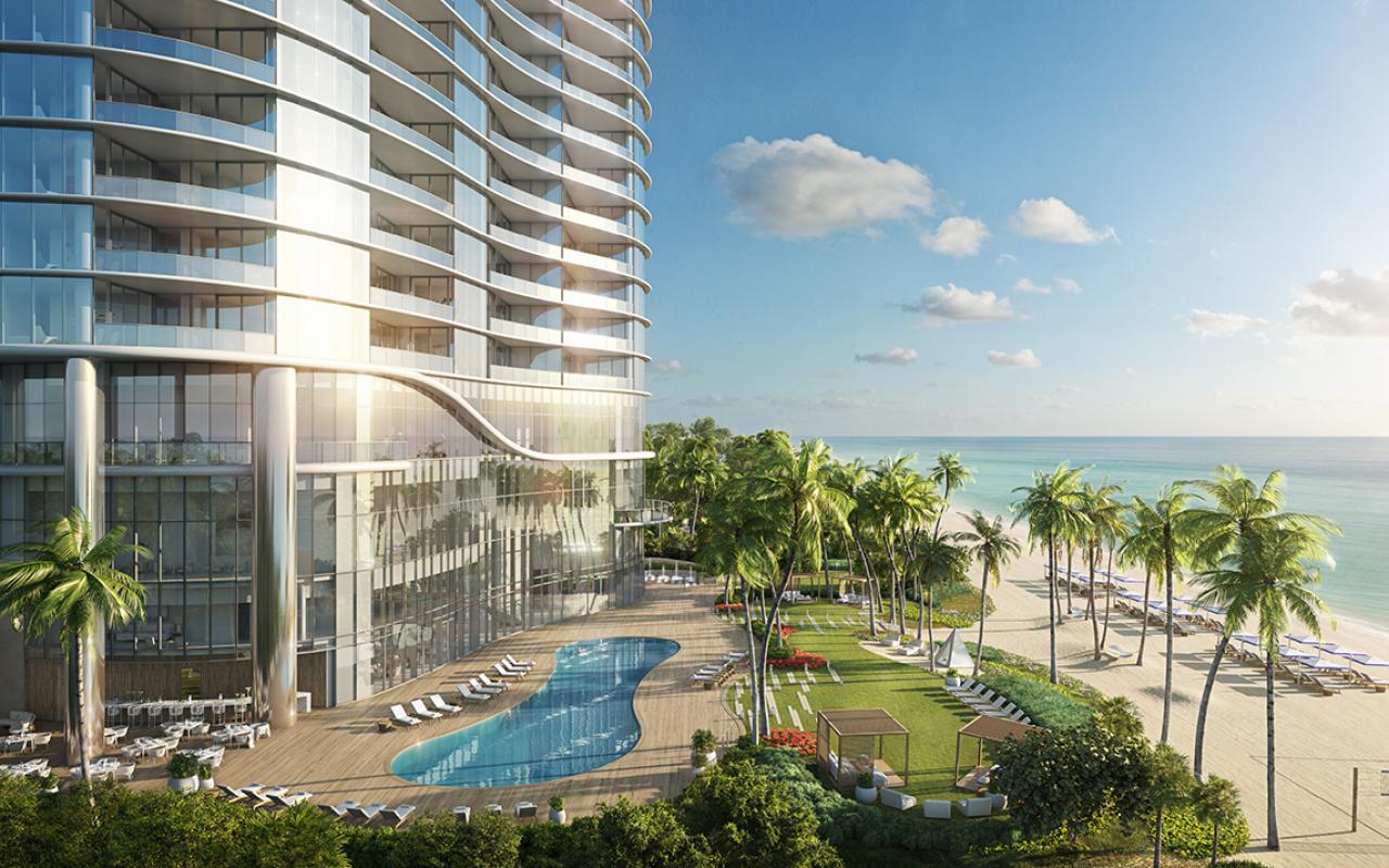 The-Ritz-Carlton-Residences,-Sunny-Isles-Beach---04-Sunrise-Pool