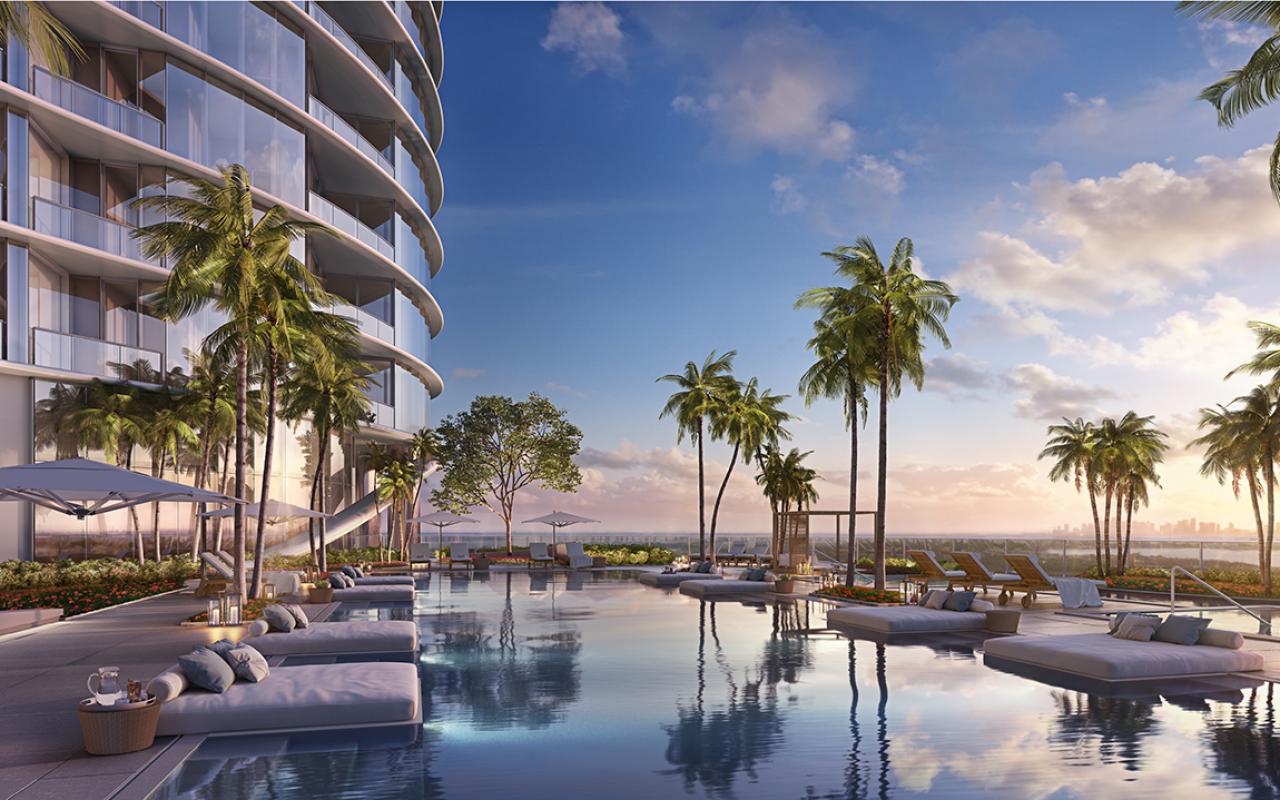 The-Ritz-Carlton-Residences,-Sunny-Isles-Beach---08-Sunset-Pool