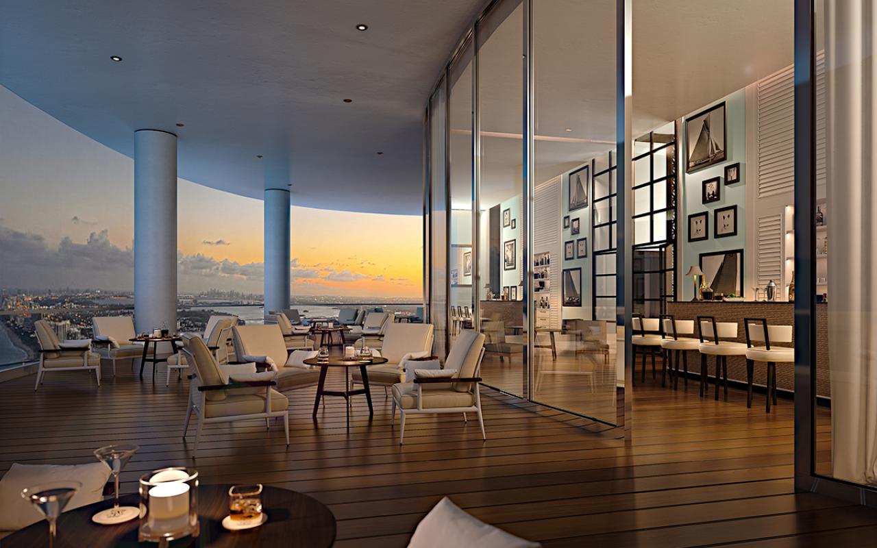 The-Ritz-Carlton-Residences,-Sunny-Isles-Beach---13-Club-Terace-Intracoastal