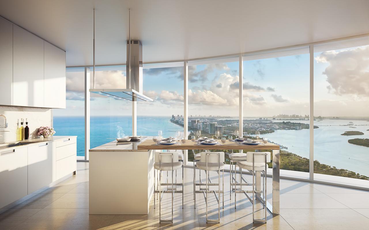 The-Ritz-Carlton-Residences,-Sunny-Isles-Beach---18-South-Kitchen